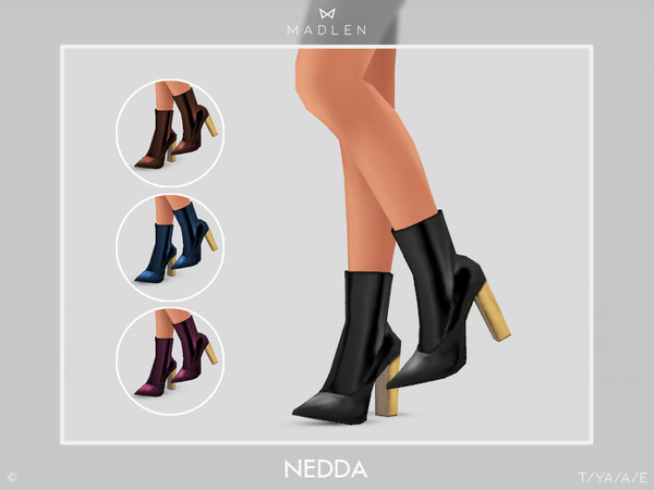 Madlen Nedda Boots by MJ95 at TSR image 342 Sims 4 Updates