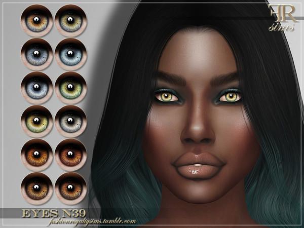 FRS Eyes N39 by FashionRoyaltySims at TSR image 3421 Sims 4 Updates