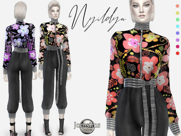 Sims 4 Nyildya outfit by jomsims at TSR