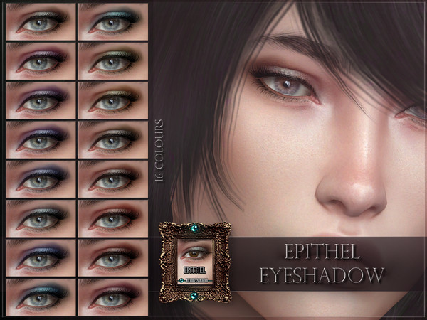 Sims 4 Epithel Eyeshadow by RemusSirion at TSR