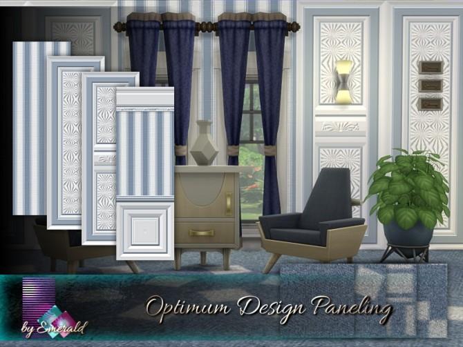 Optimum Design Paneling by emerald at TSR image 350 670x503 Sims 4 Updates