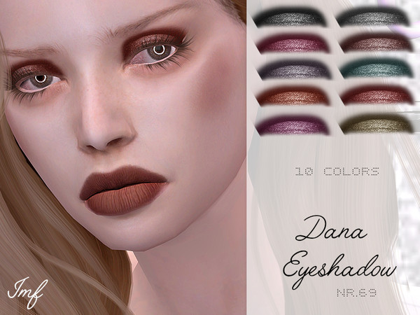 IMF Dana Eyeshadow N.69 by IzzieMcFire at TSR image 3521 Sims 4 Updates