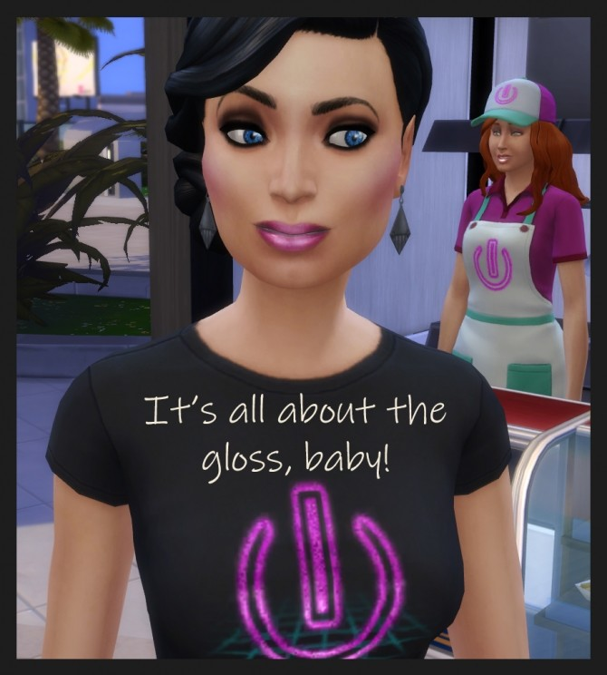 Sims 4 Light Frosties Lip Gloss 23 Colours by Simmiller at Mod The Sims