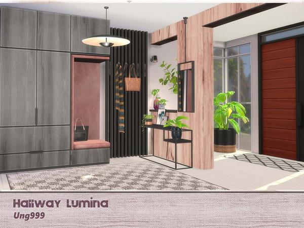 Sims 4 Hallway Lumina by ung999 at TSR