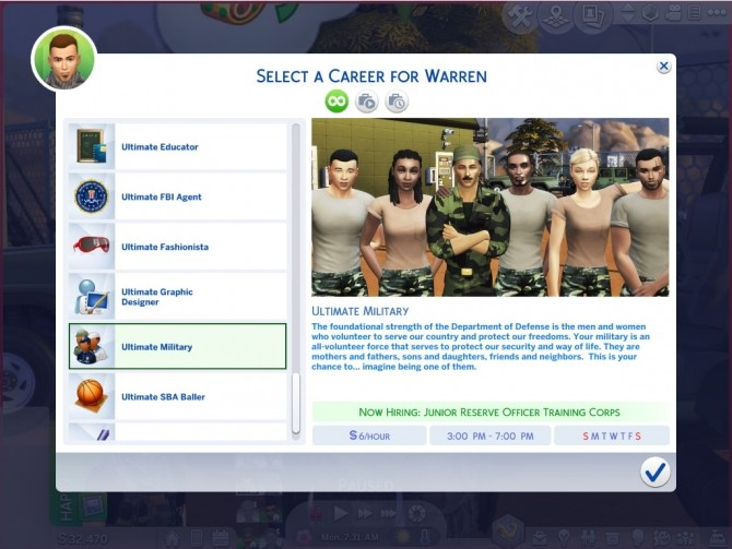 Sims 4 Ultimate Military Career by asiashamecca at Mod The Sims