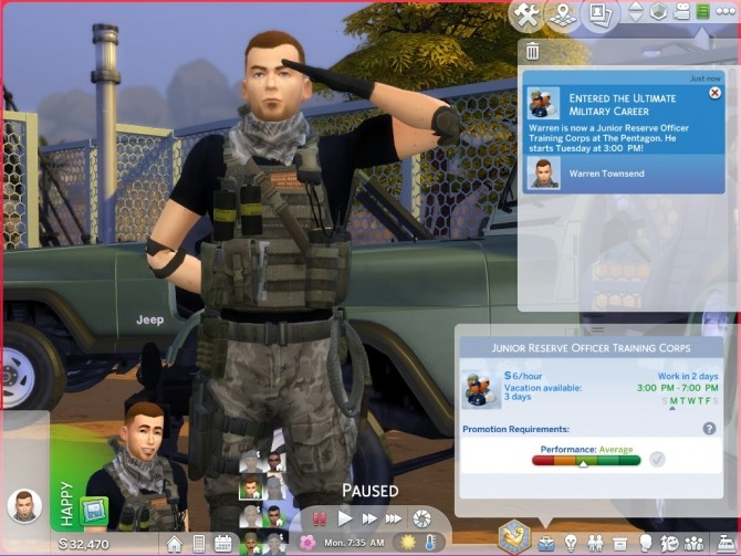 Ultimate Military Career by asiashamecca at Mod The Sims image 3621 670x503 Sims 4 Updates