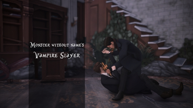 Vampire Slayer Pose Pack By Monster Without Name At Mod