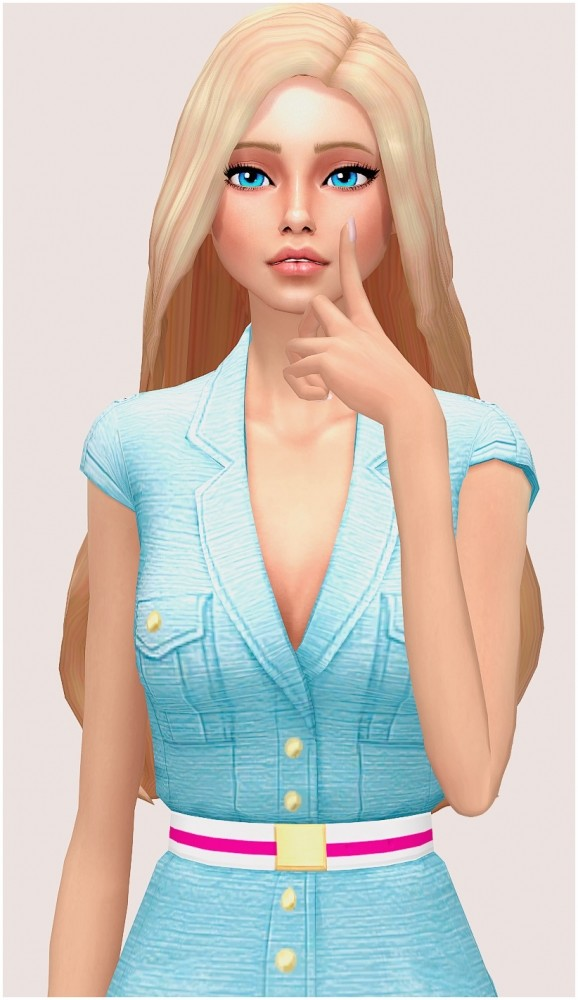 Barbie outfit at SilwerMoon Sims image 3751 578x1000 Sims 4 Updates