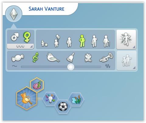 Sarah Vanture by Angerouge at Studio Sims Creation image 376 Sims 4 Updates