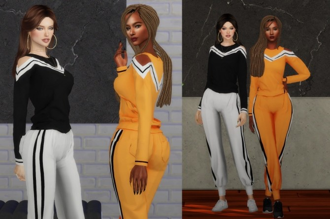 Ayumi Athletic Wear by RUCHELLSIMS at REDHEADSIMS image 3817 670x445 Sims 4 Updates