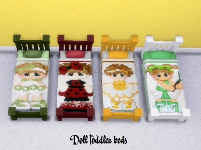 Doll beds for toddlers at Trudie55 image 3825 670x503 Sims 4 Updates