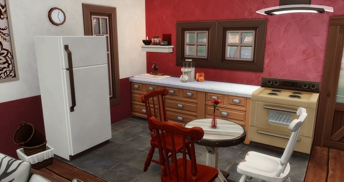 Sims 4 Le Commencement starter house at Simsontherope