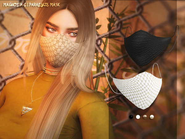 Sims 4 Paralyze Mask by Magnolia C at TSR