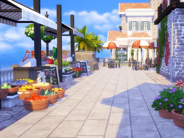 Italian Beach Village by kaibellvert at TSR image 4102 Sims 4 Updates