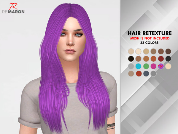 Emily Hair Retexture by remaron at TSR image 4103 Sims 4 Updates