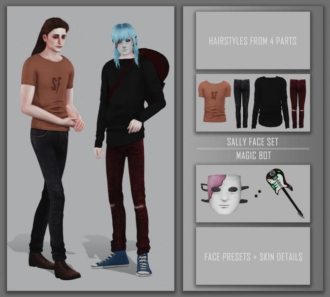Sally Face set at Magic bot image 4114 670x603 Sims 4 Updates