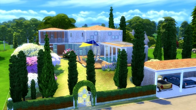 Le Mas de Lara villa by valbreizh at Mod The Sims image 4118 670x377 Sims 4 Updates