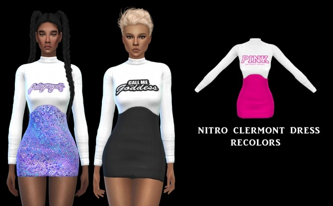 Clermont Dress at Leo Sims image 4121 670x415 Sims 4 Updates