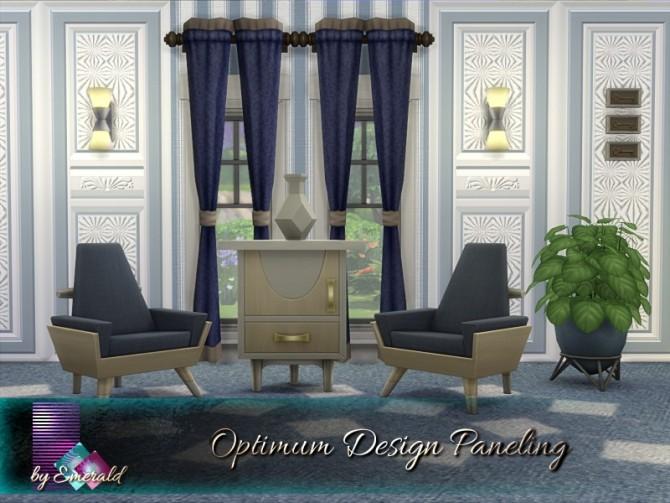 Optimum Design Paneling by emerald at TSR image 420 670x503 Sims 4 Updates