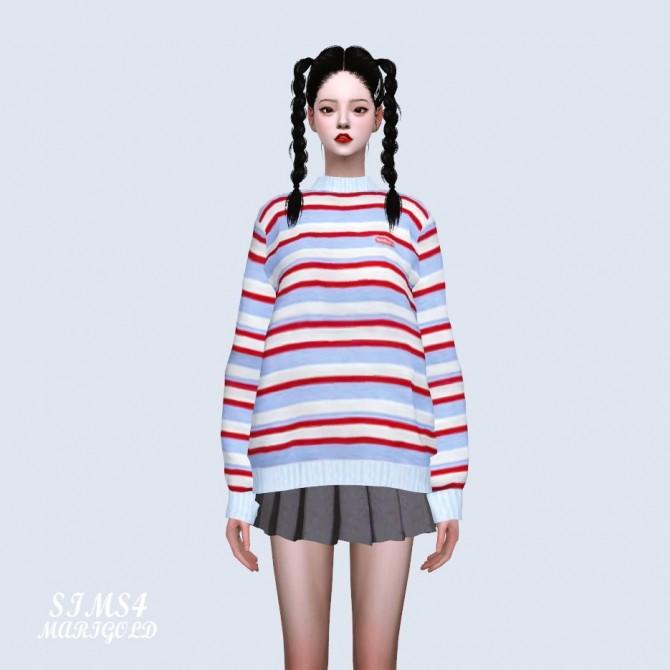 Stripe Sweater at Marigold image 4201 670x670 Sims 4 Updates