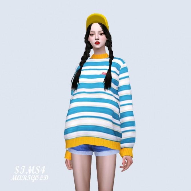 Stripe Sweater at Marigold image 4211 670x670 Sims 4 Updates