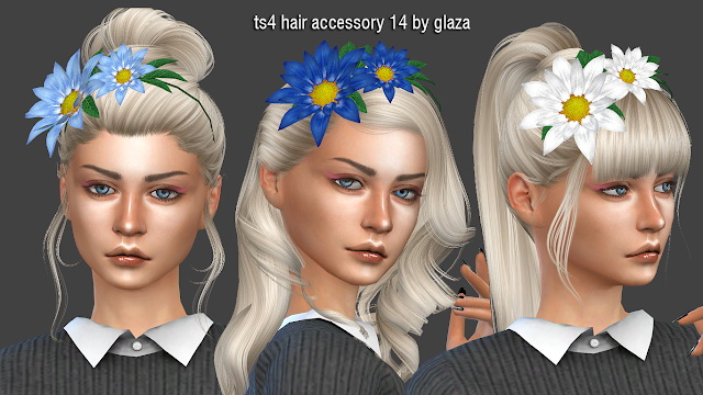 Hair Accessory 14 At All By Glaza 187 Sims 4 Updates