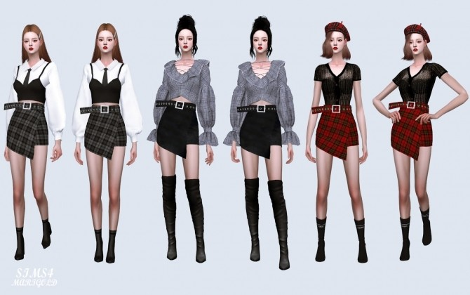 Wrap Skirt With Belt at Marigold image 4311 670x420 Sims 4 Updates