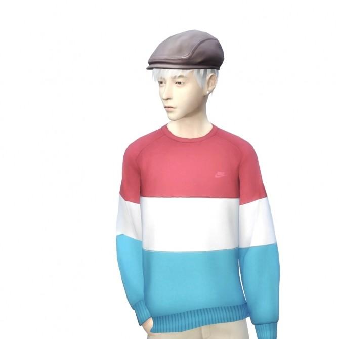 Sims 4 Short Layered Hairstyle at RYUFFY