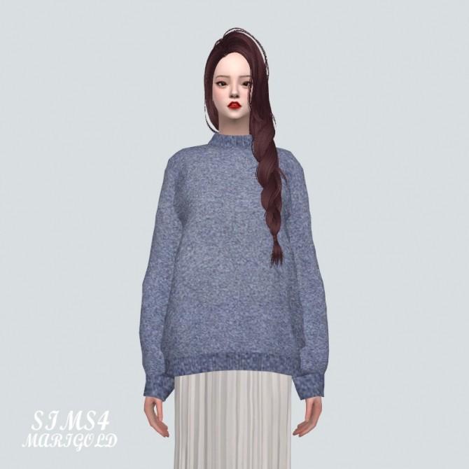 Sims 4 Sweater F at Marigold