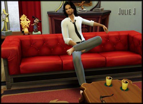Male Casual Shirt & Tie at Julietoon – Julie J image 4341 Sims 4 Updates