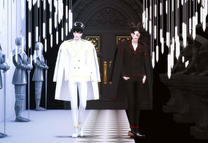 Sims 4 Angel&Devil collaboration set at SHENDORI SIMS