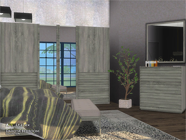Dakota Bedroom by ArtVitalex at TSR image 443 Sims 4 Updates
