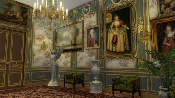 Marie Antoinette Floral Walls at Regal Sims image 4441 670x377 Sims 4 Updates