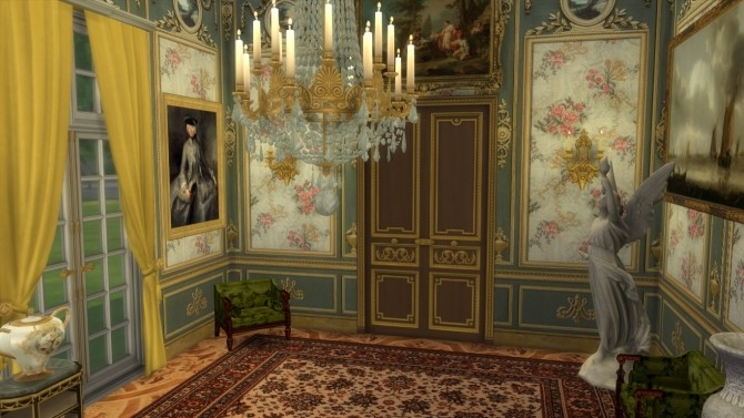 Marie Antoinette Floral Walls at Regal Sims image 4451 670x377 Sims 4 Updates