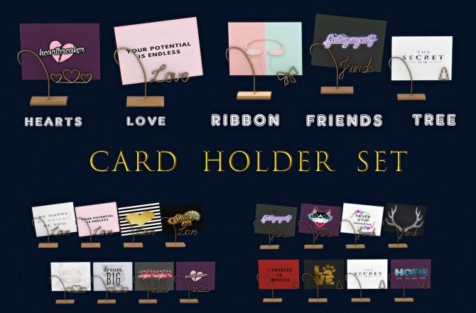 Sims 4 Cardholder Set (P) at Leo Sims