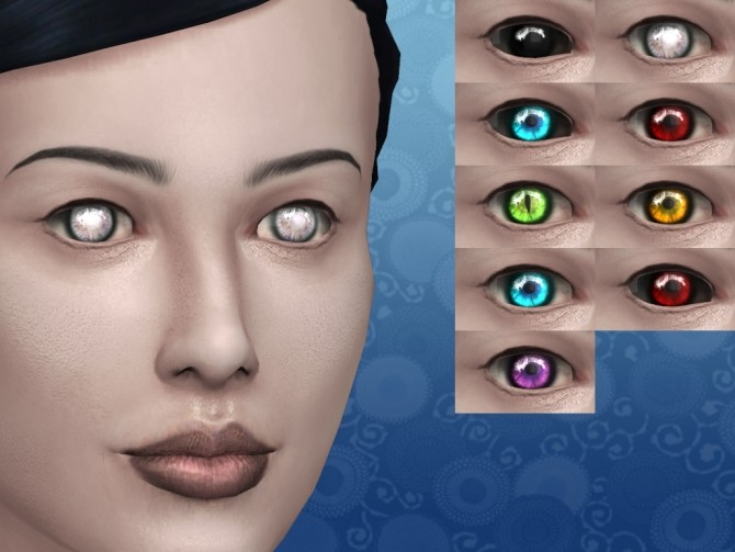 Vampire Expressive Eyes by lilotea at Mod The Sims image 476 670x503 Sims 4 Updates