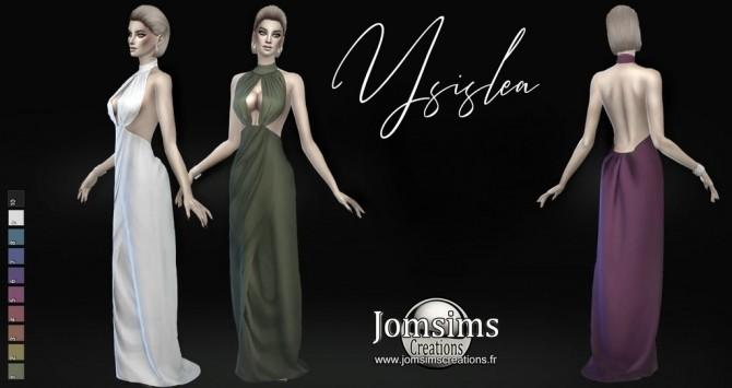 Ysislea dress at Jomsims Creations image 495 670x355 Sims 4 Updates