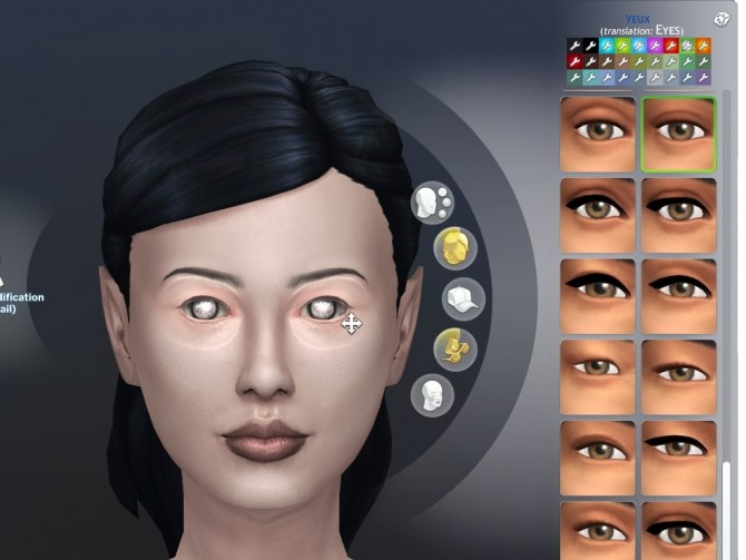 Vampire Expressive Eyes by lilotea at Mod The Sims image 496 670x503 Sims 4 Updates