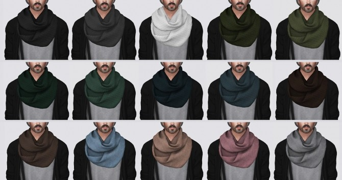 Infinity Scarf at Darte77 image 509 670x353 Sims 4 Updates