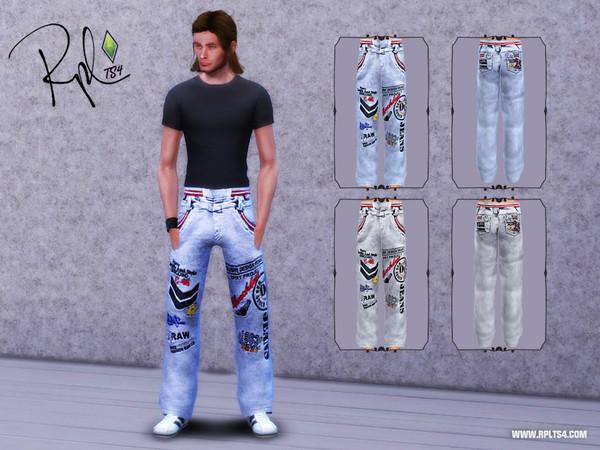 Мужская повседневная одежда 5105