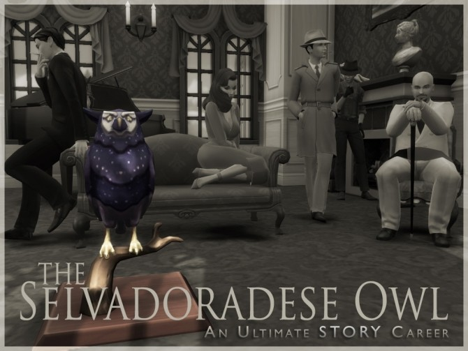 The Selvadoradese Owl Career by asiashamecca at Mod The Sims image 511 670x503 Sims 4 Updates