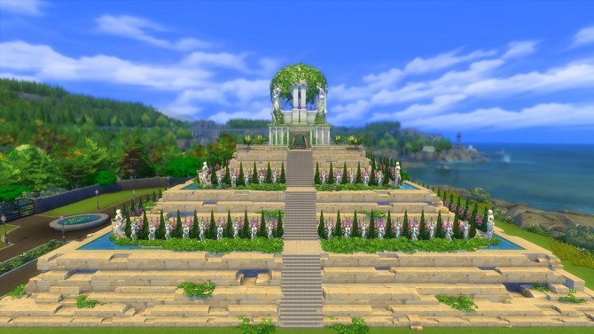 Mount Olympus Temple by Oo NURSE oO at Mod The Sims image 5123 670x377 Sims 4 Updates
