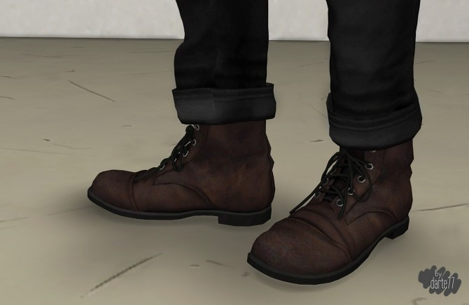 Old Boots at Darte77 image 5210 670x436 Sims 4 Updates