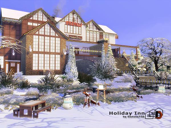 Sims 4 Holiday Inn hotel by Danuta720 at TSR