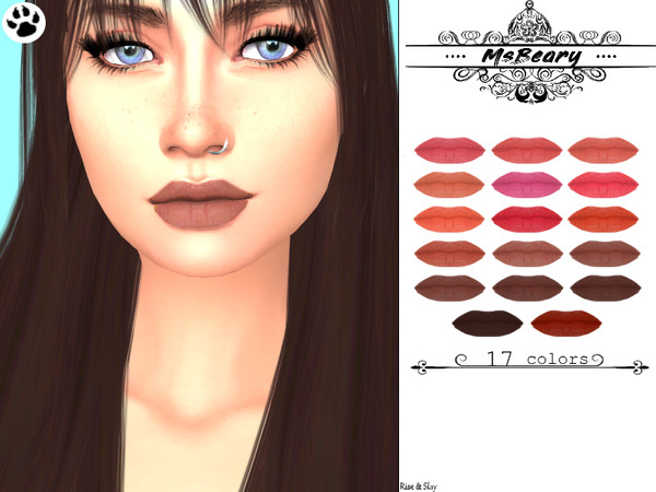 Subtle Lips by MsBeary at TSR image 528 Sims 4 Updates