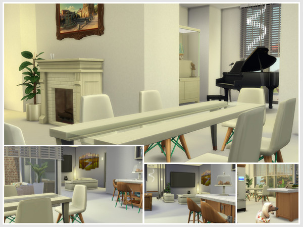 Sims 4 Nora house by philo at TSR