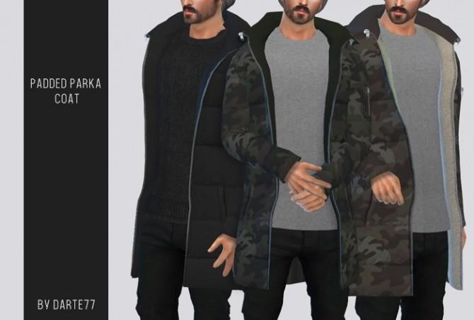 Sims 4 Padded Parka Coat at Darte77