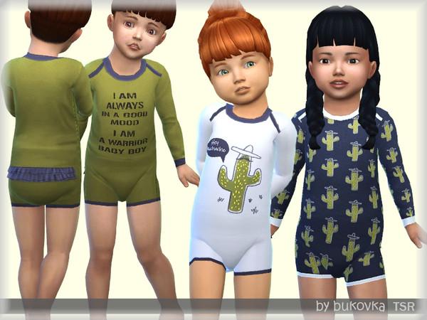 Sims 4 Kombidress Cactus by bukovka at TSR