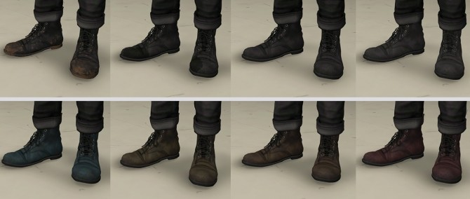 Sims 4 Old Boots at Darte77
