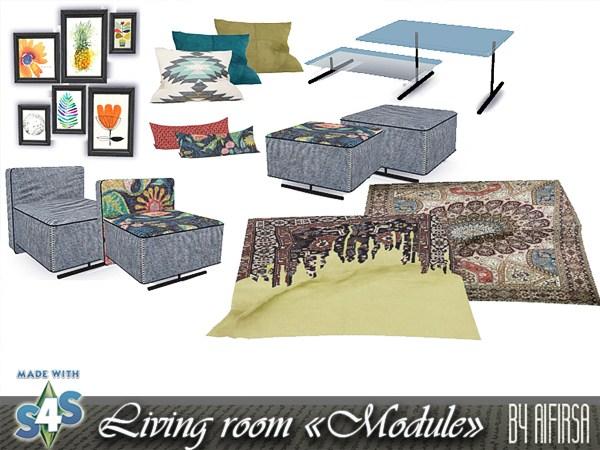 Module livingroom at Aifirsa image 555 Sims 4 Updates